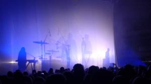 Stage with crowd